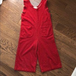 Zara girls red jumper size 6